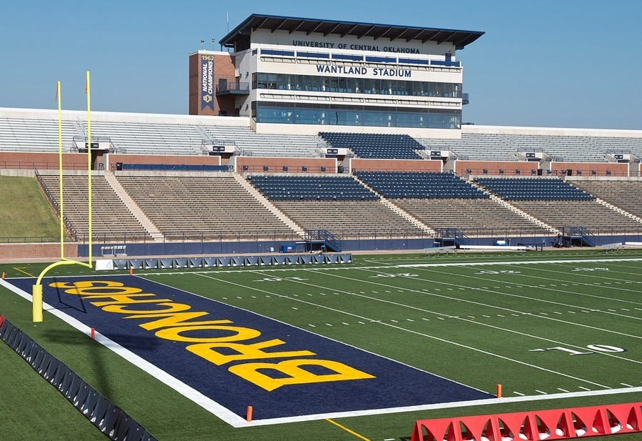 Wantland Stadium University Of Central Oklahoma Athletics