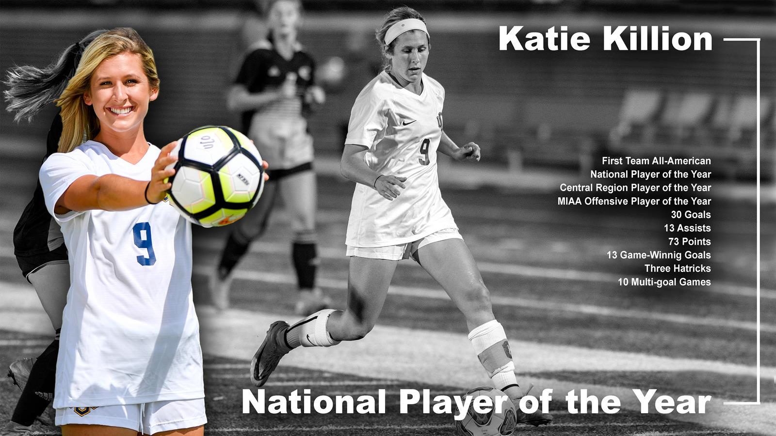 Katie Killion Named National Player of the Year - University of ... a4f51fe9e